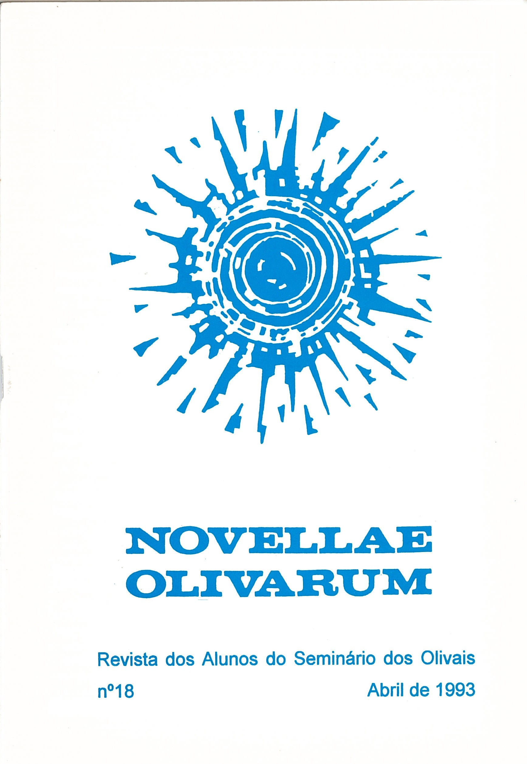 Revista Novellae Olivarum, nº 18 - Abril de 1993 (capa)