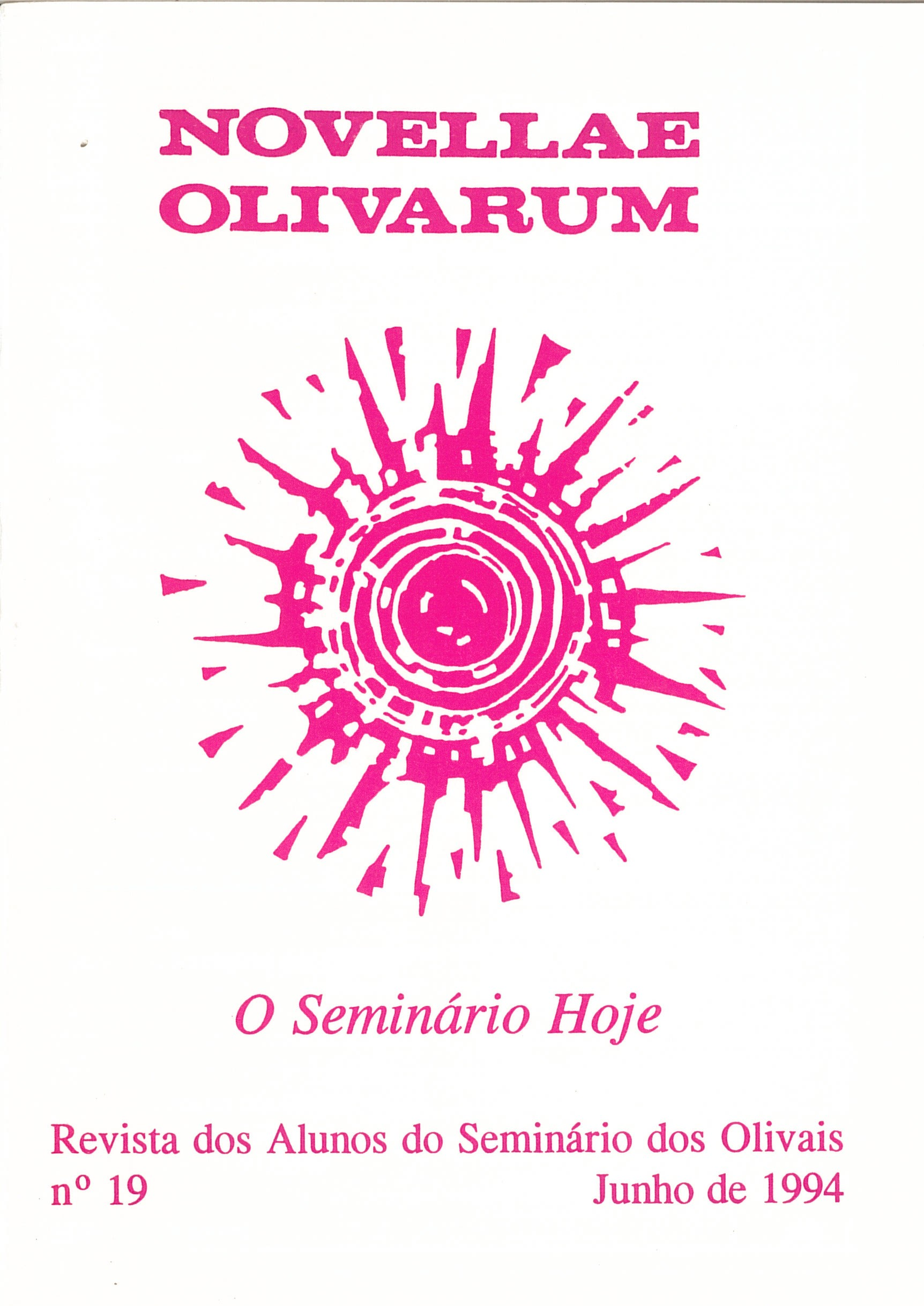 Revista Novellae Olivarum, nº 19 - Junho de 1994 (capa)