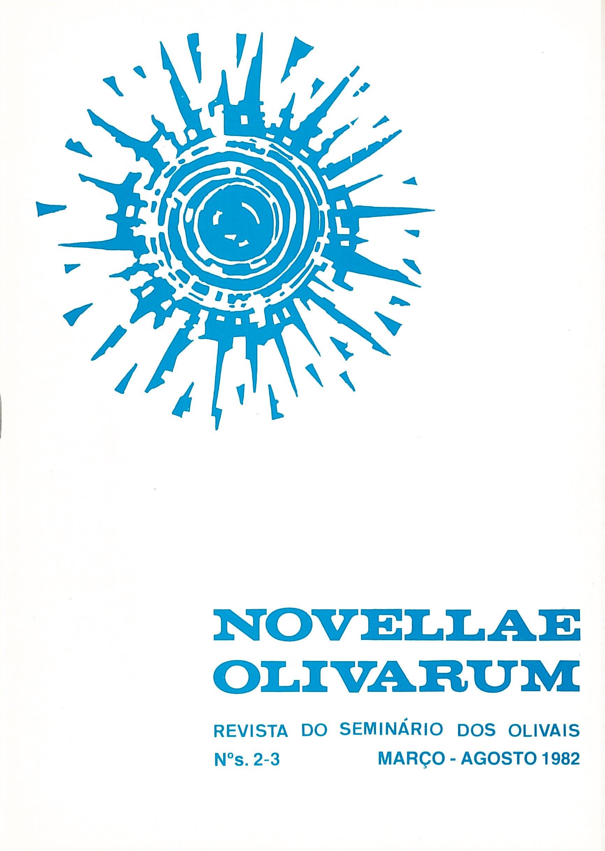 Revista Novellae Olivarum, nº 2 e 3 - Março/Agosto de 1982 (capa)