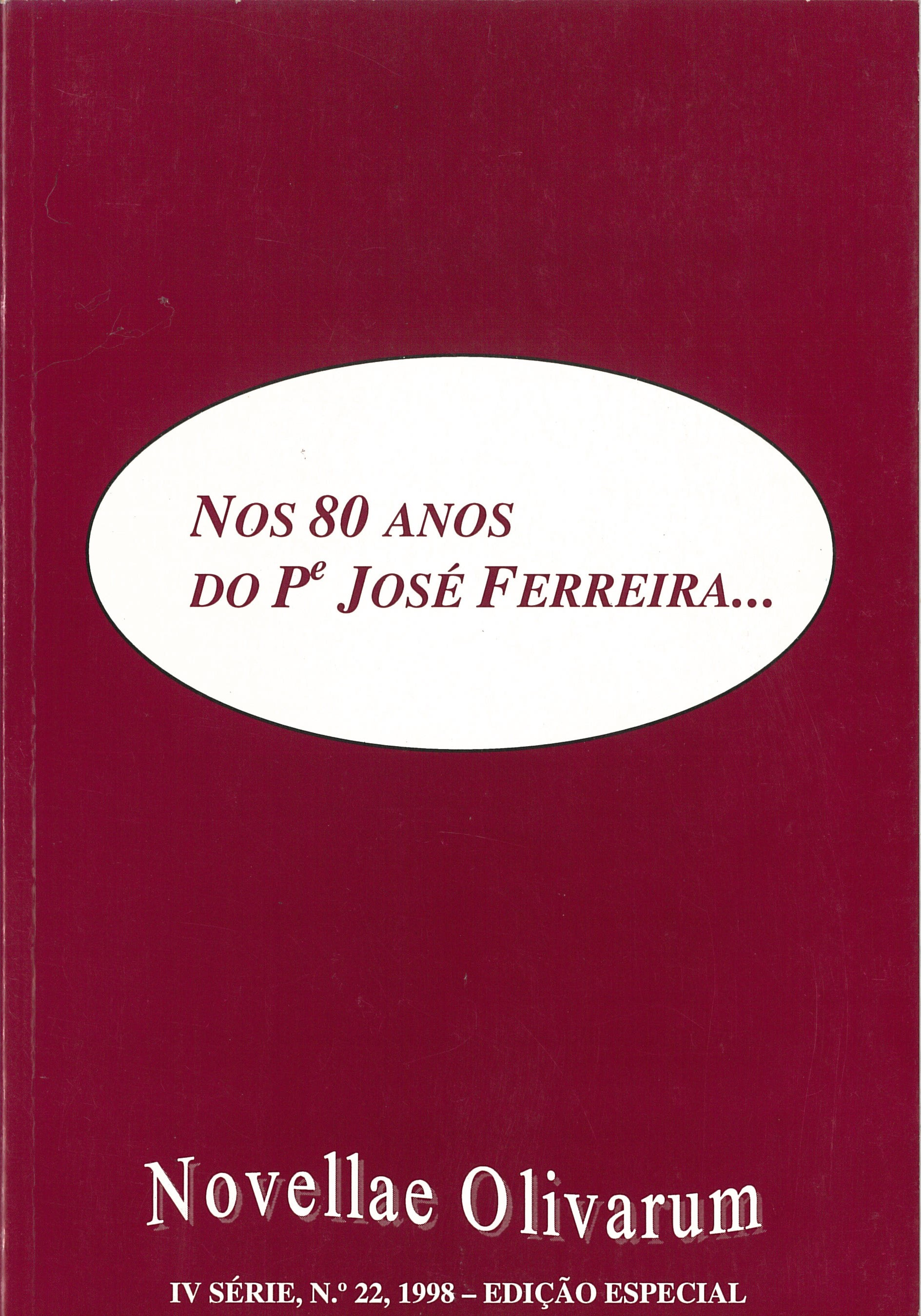Revista Novellae Olivarum, nº 22 - 1998 (capa)