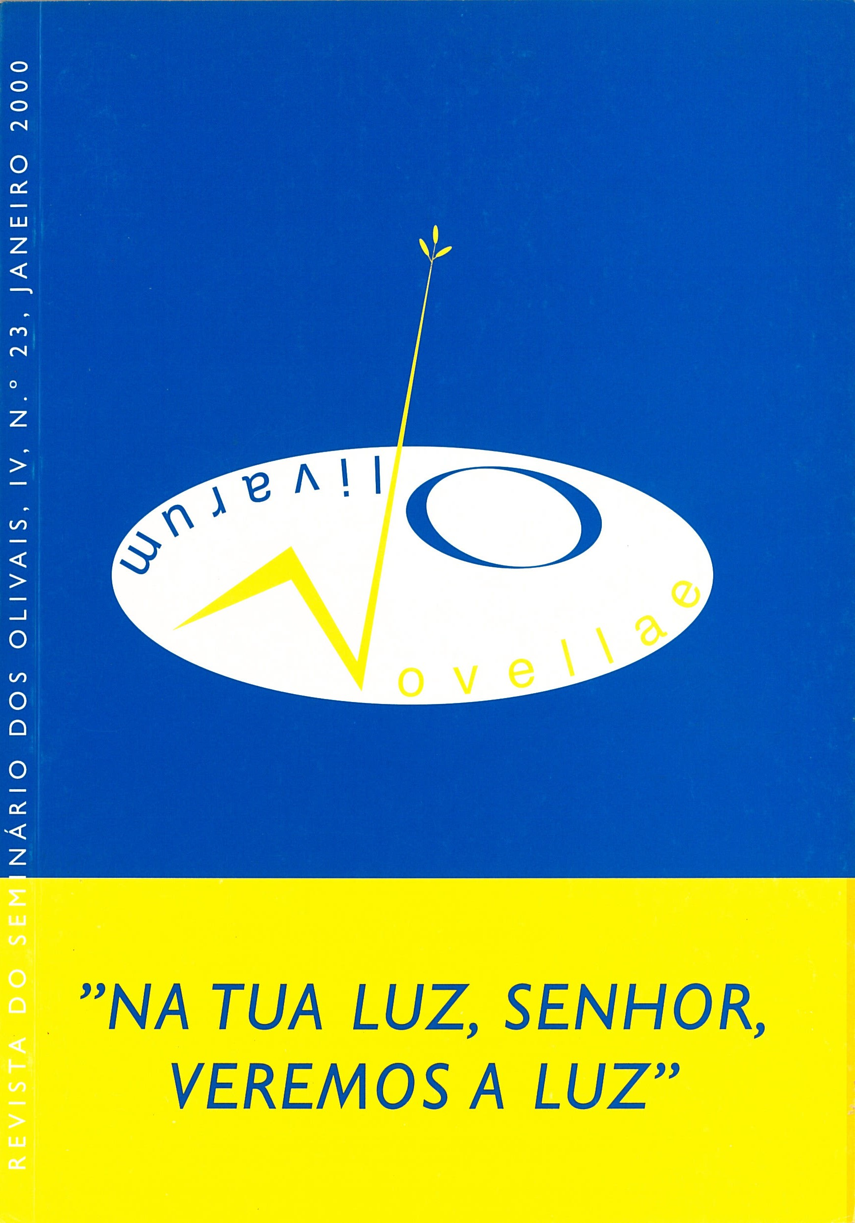 Revista Novellae Olivarum, nº 23 - Janeiro de 2000 (capa)