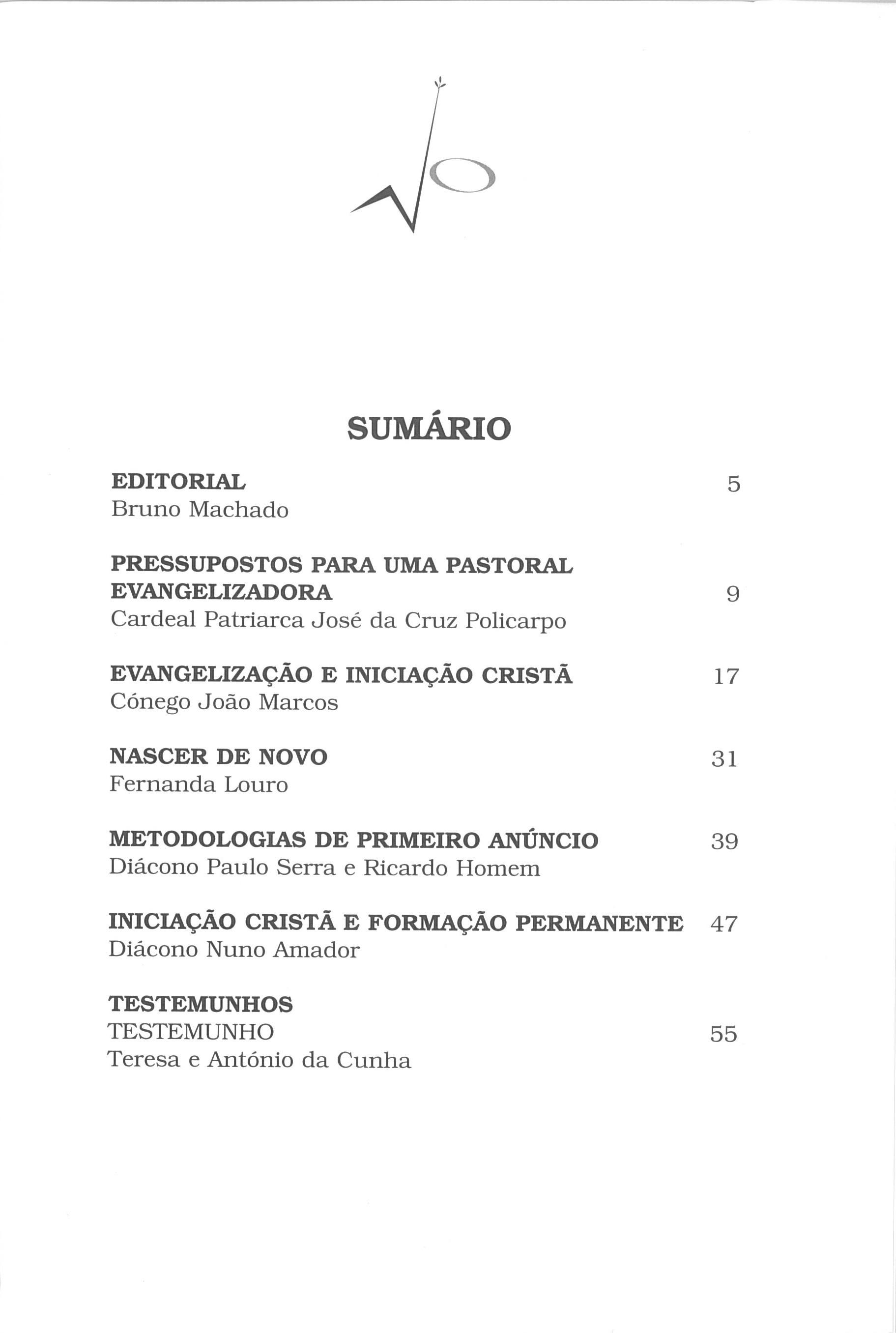 Revista Novellae Olivarum, nº 28 - Abril de 2004 (índice)