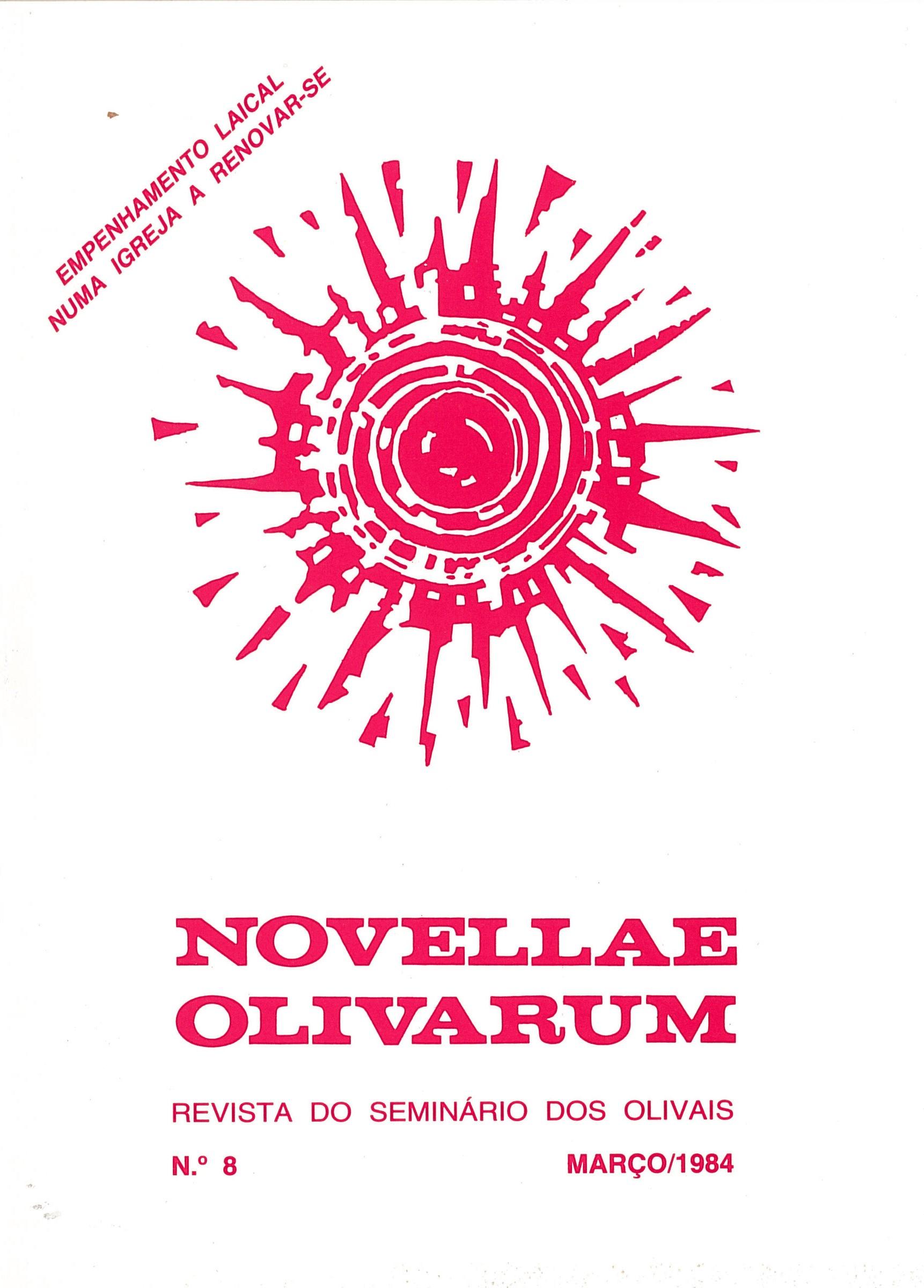 Revista Novellae Olivarum, nº 8 - Março de 1984 (capa)