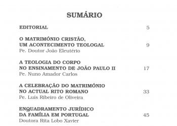 Revista Novellae Olivarum, nº 31 - Outubro de 2005 (índice)
