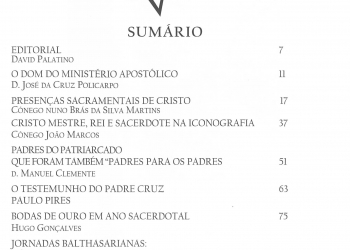 Revista Novellae Olivarum, nº 39 - Novembro de 2009 (índice)