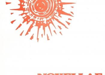 Revista Novellae Olivarum, nº 4 - Outubro/Dezembro de 1982 (capa)