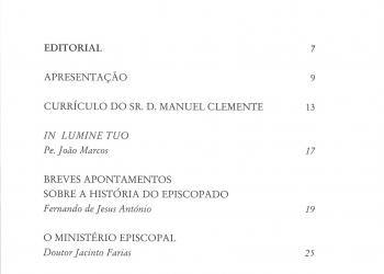 Revista Novellae Olivarum, nº 23 - Janeiro de 2000 (índice)