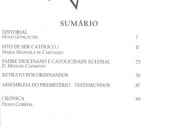 Revista Novellae Olivarum, nº 38 - Junho de 2009 (índice)