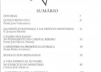 Revista Novellae Olivarum, nº 40 - Maio de 2010 (índice)
