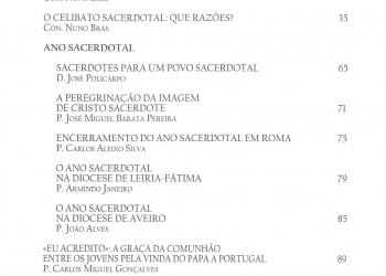 Revista Novellae Olivarum, nº 41 - Novembro de 2010 (índice)